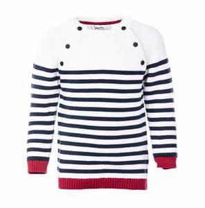 Bilde av Salto, sailor genser rød, blå